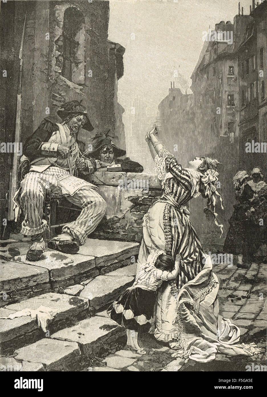 A Vain Appeal The Reign of Terror Paris, France 1793-4