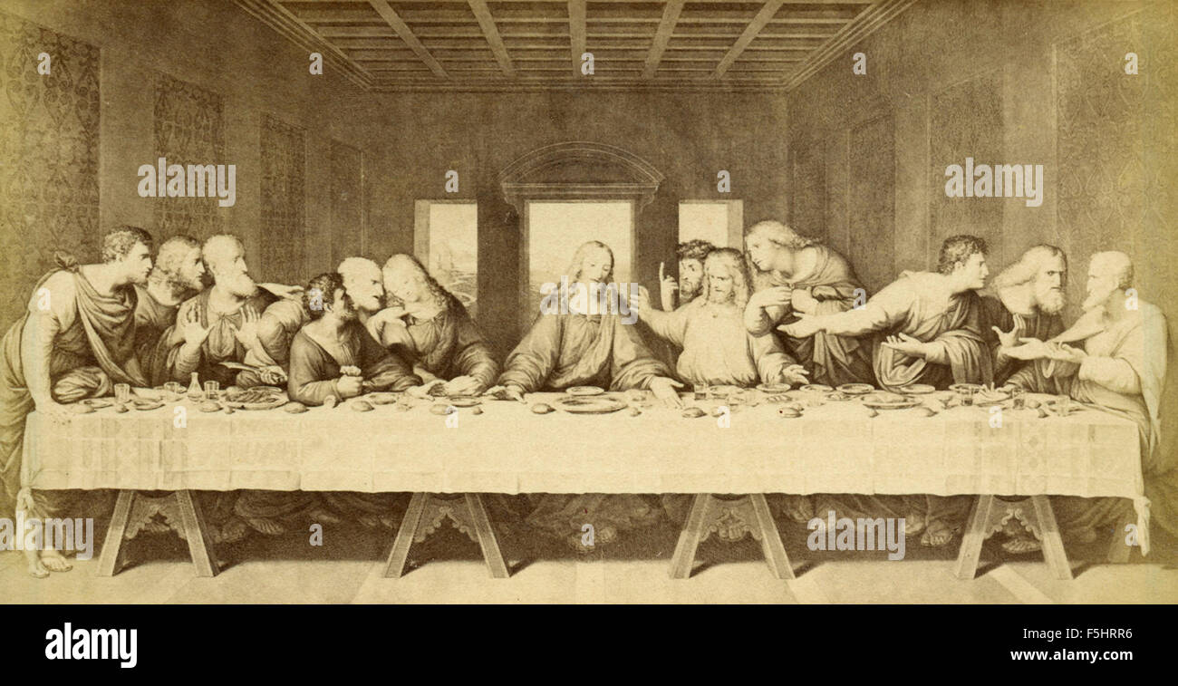 Dorable Last Supper Wall Decor Sale Motif - Wall Painting Ideas ...