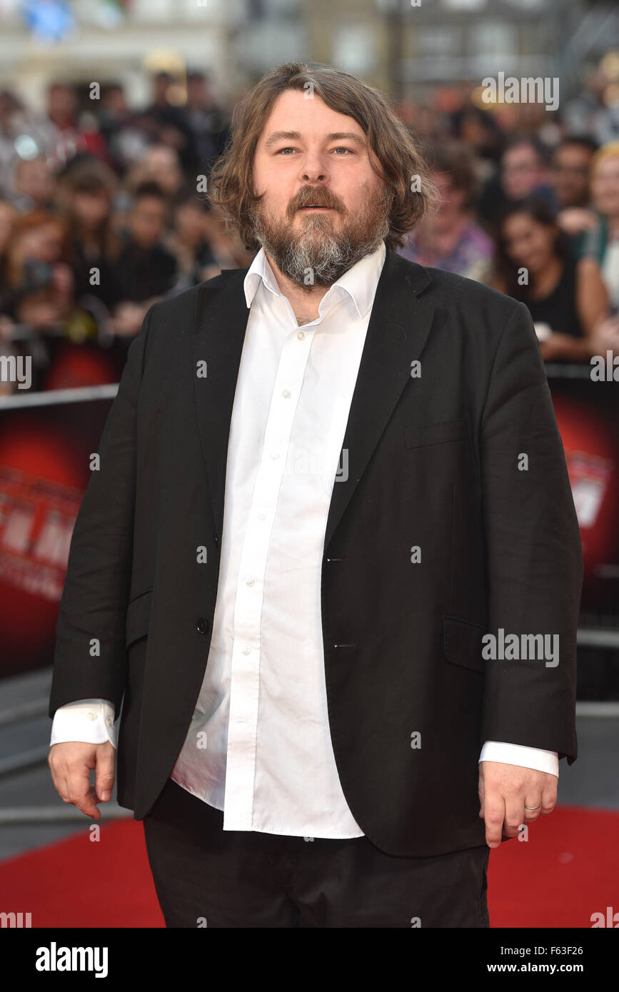 BFI LFF: High Rise festival Gala held at the Odeon Leicester Square - Arrivals.  Featuring: Ben Wheatley Where: - Stock Image