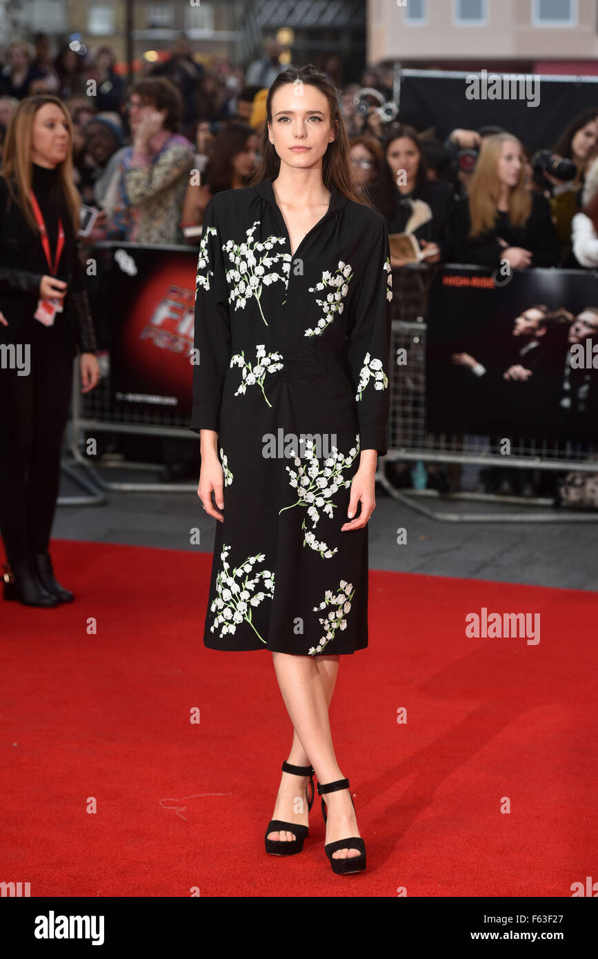 BFI LFF: High Rise festival Gala held at the Odeon Leicester Square - Arrivals.  Featuring: Stacy Martin Where: - Stock Image