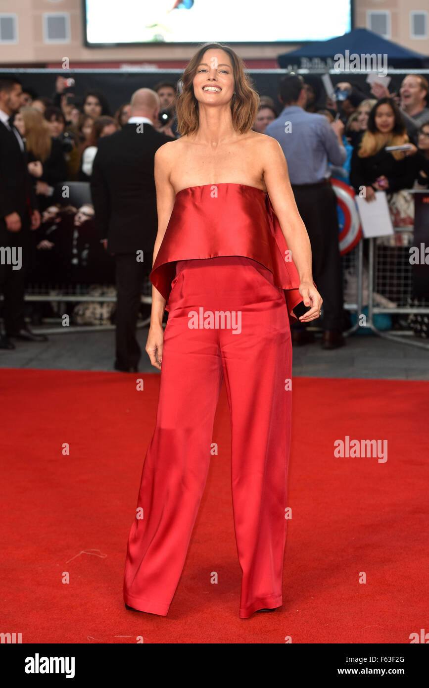 BFI LFF: High Rise festival Gala held at the Odeon Leicester Square - Arrivals.  Featuring: Sienna Guillory Where: - Stock Image