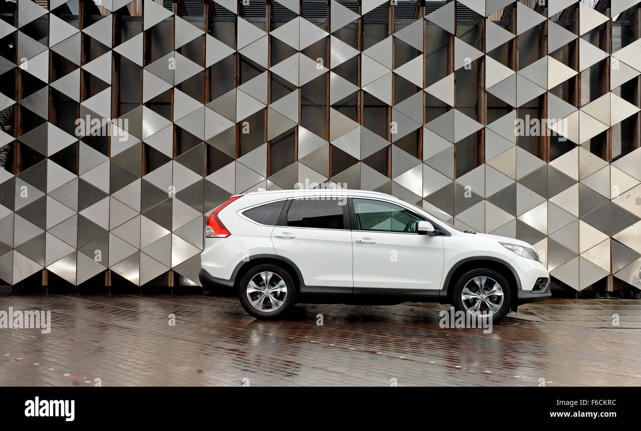 Honda CRV 4WD Manual - Stock Image