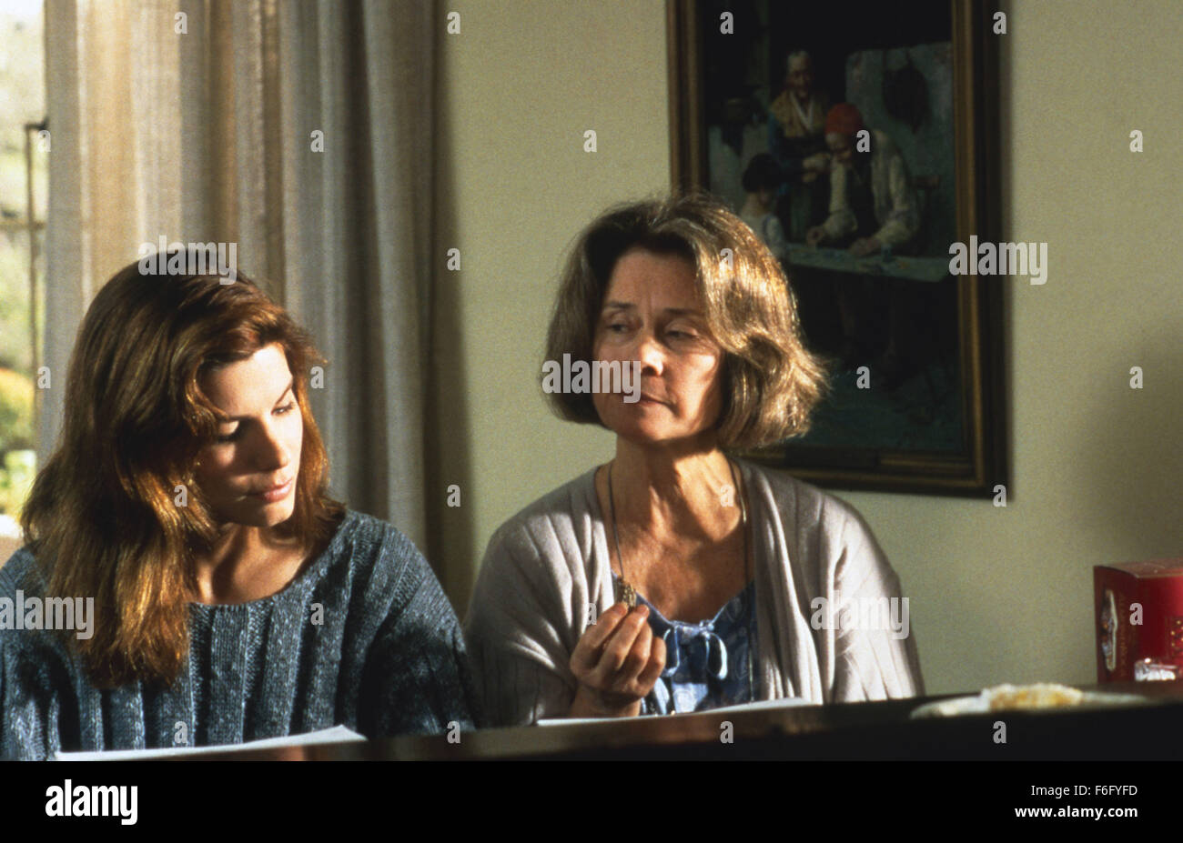 RELEASE DATE: 28 July 1995. MOVIE TITLE: The Net. STUDIO: Columbia Pictures Corporation. PLOT: Angela Bennett's - Stock Image