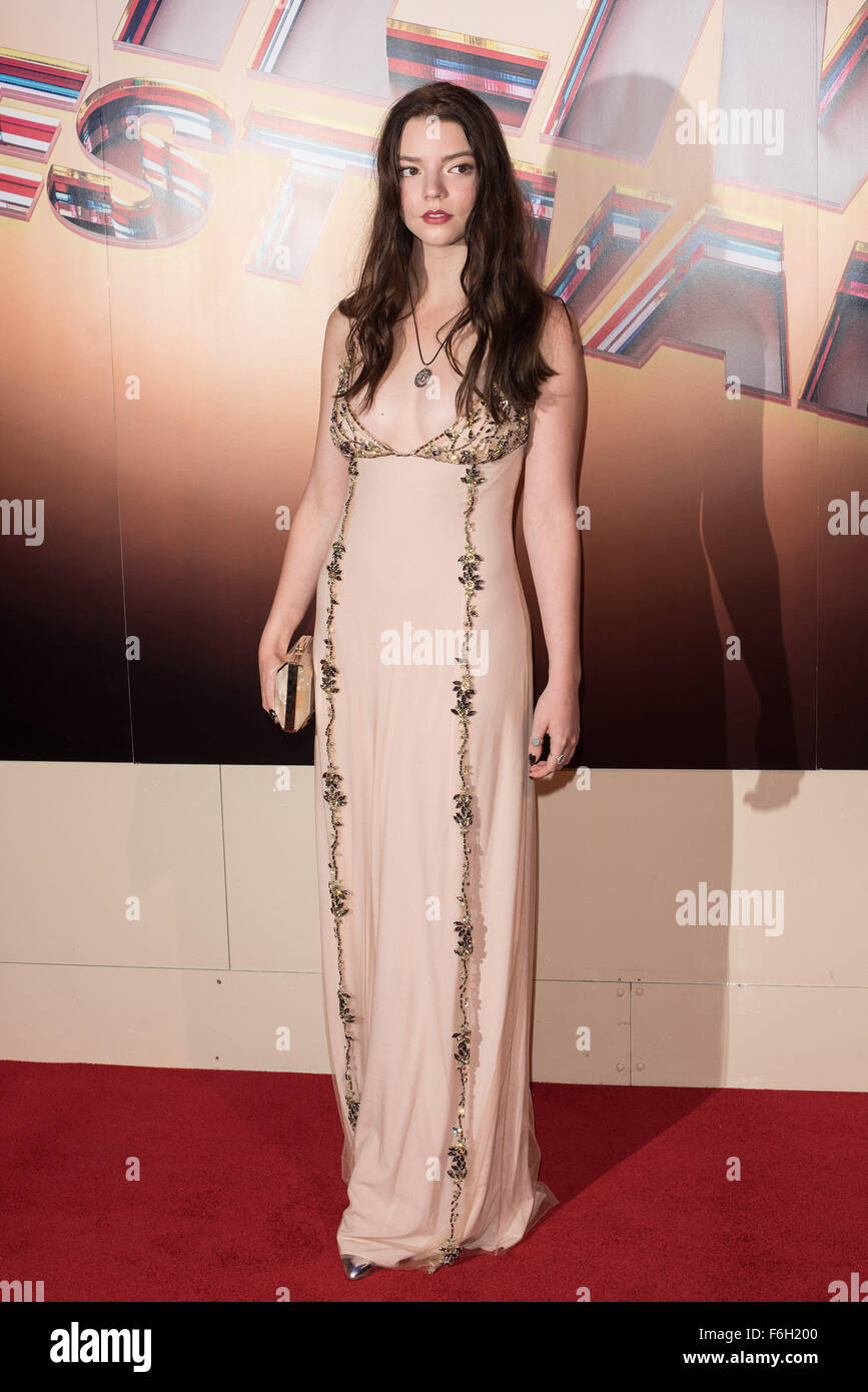 59th British Film Institute London Film Festival - Awards Ceremony  Featuring: Anya Taylor-Joy Where: London, United - Stock Image