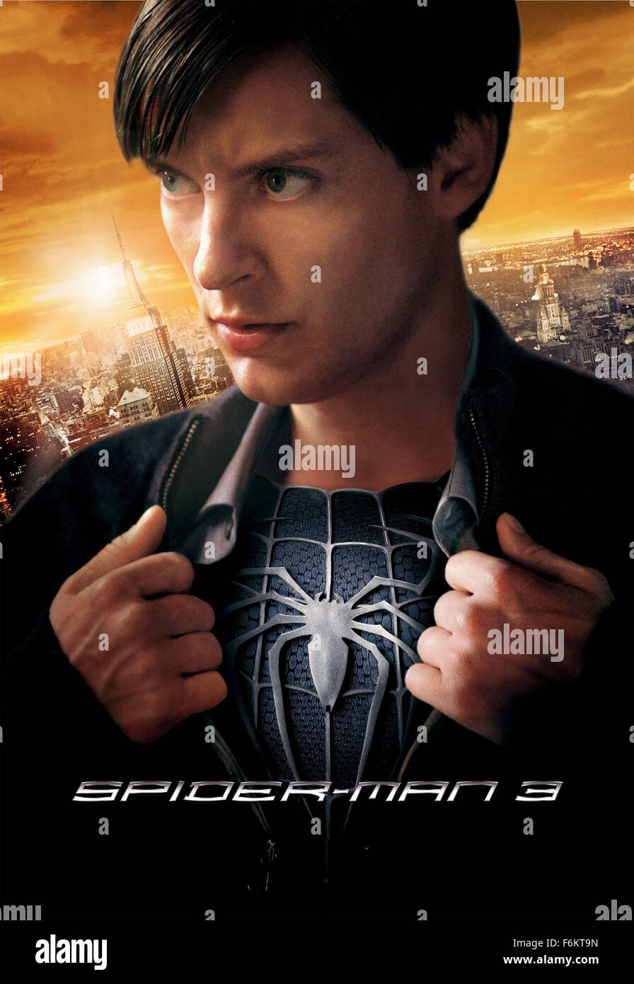 RELEASE DATE May 2007 MOVIE TITLE Spider Man 3 STUDIO Columbia Pictures Sony Entertainment PLOT A Strange Black Entity From Another World