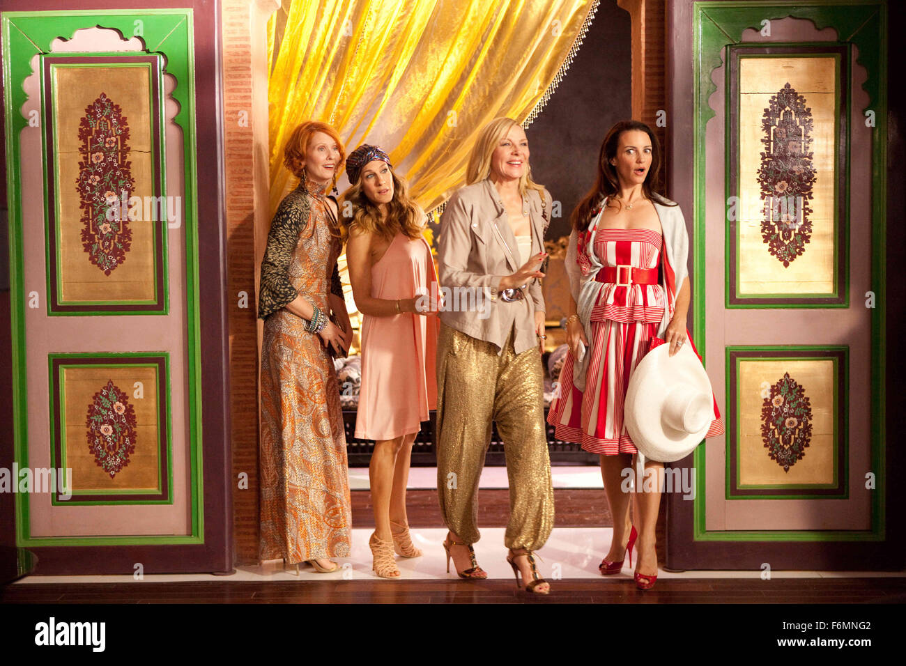 RELEASE DATE: May 27, 2010   MOVIE TITLE: Sex and the City 2   STUDIO: New Line Cinema   DIRECTOR:  Michael Patrick Stock Photo