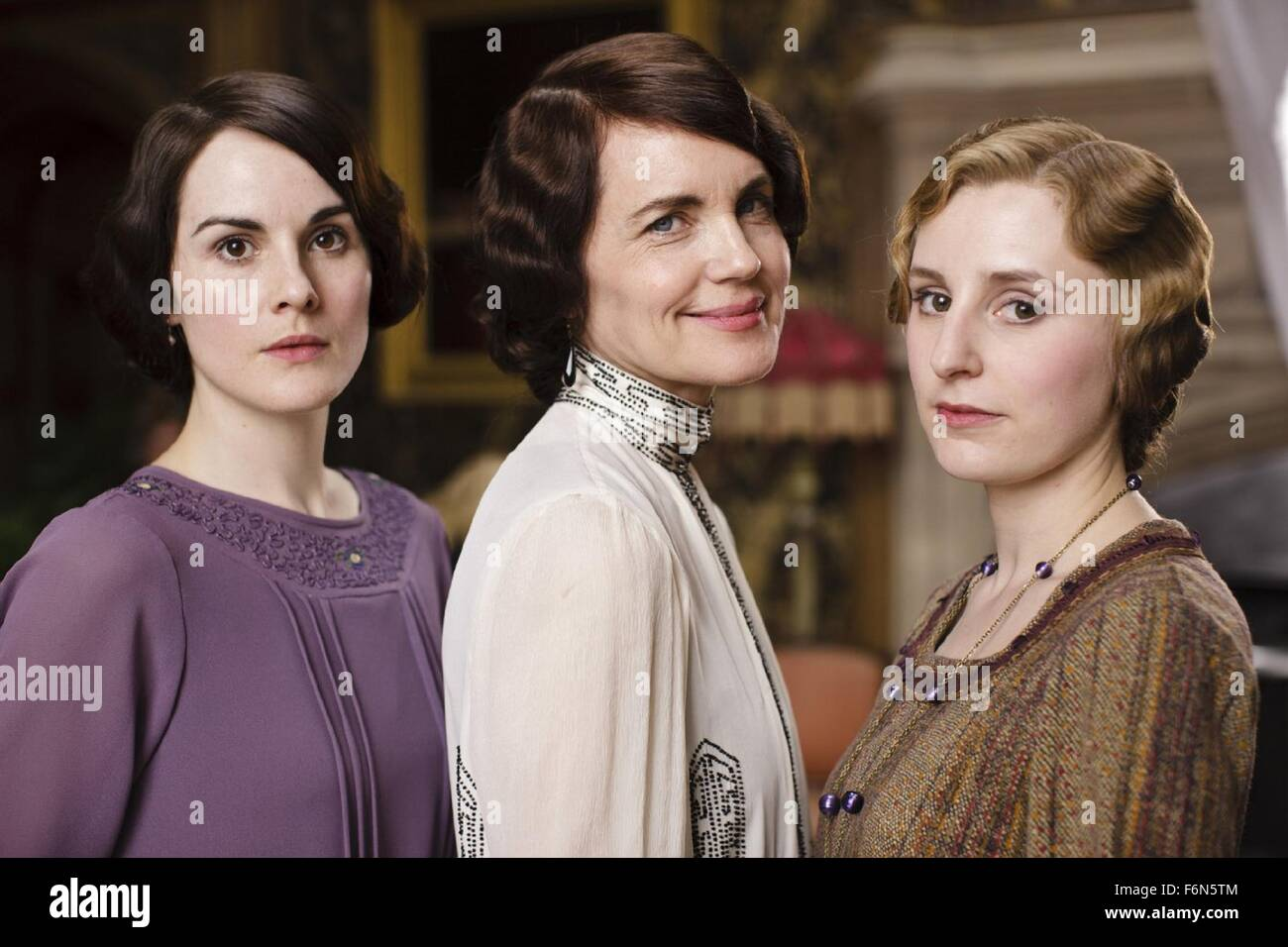 Mar 26, 2015 - London, England, United Kingdom - The next season of ITV's period drama Downton Abbey will be its Stock Photo