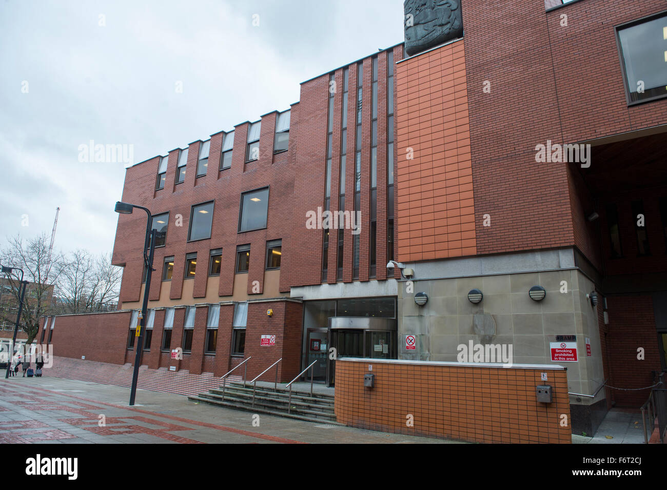 Leeds Crown Court Stock Photo