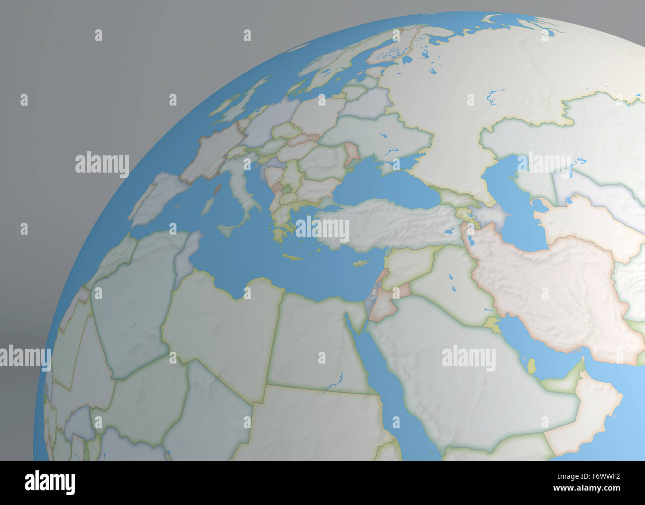 World map of middle east europe and north africa stock photo world map of middle east europe and north africa gumiabroncs Image collections