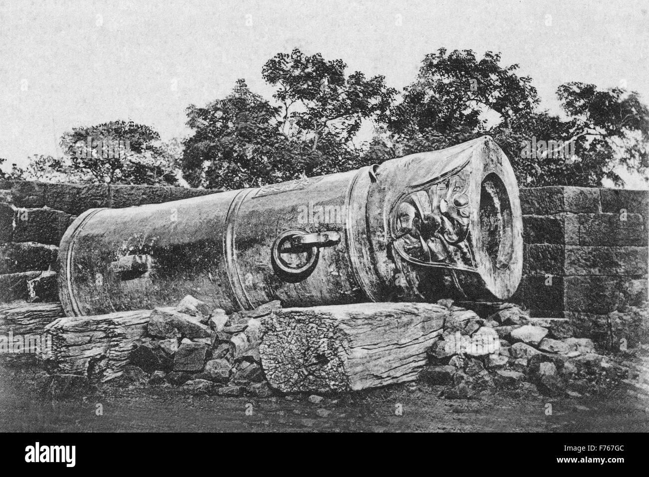 Malik maidan gun, bijapur, karnataka, india, asia - Stock Image
