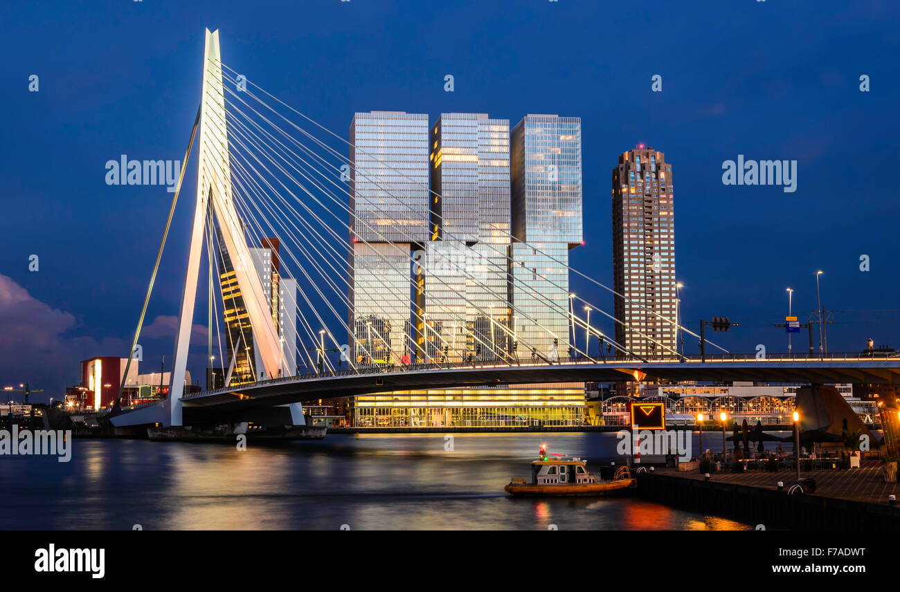 rotterdam-erasmus-bridge-by-night-netherlands-F7ADWT.jpg