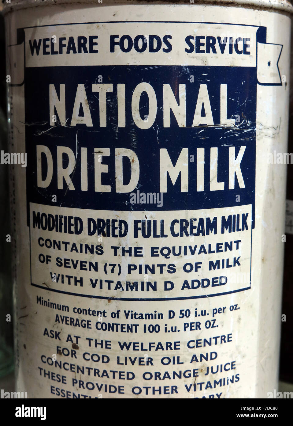 World,war,II,roller-dried,roller,dried,dry,powdered,20th,century,britain,british,century,white,blue,container,design,driedmilk,drinking,milky,object,packaging,vitamin,vitaminD,ration,rationingMother,baby,child,babymilk,breast-feeding,breast,breastmilk,scheme,National,health,service,Baby Milk,GoTonySmith,SPD,Coupon,Coupons,Voucher,Food,bank,foodbank,housewife,housewives,full,cream,seven,pint,welfare,centre,England,English,Scotland,Scottish,Buy Pictures of,Buy Images Of,Welfare Centre
