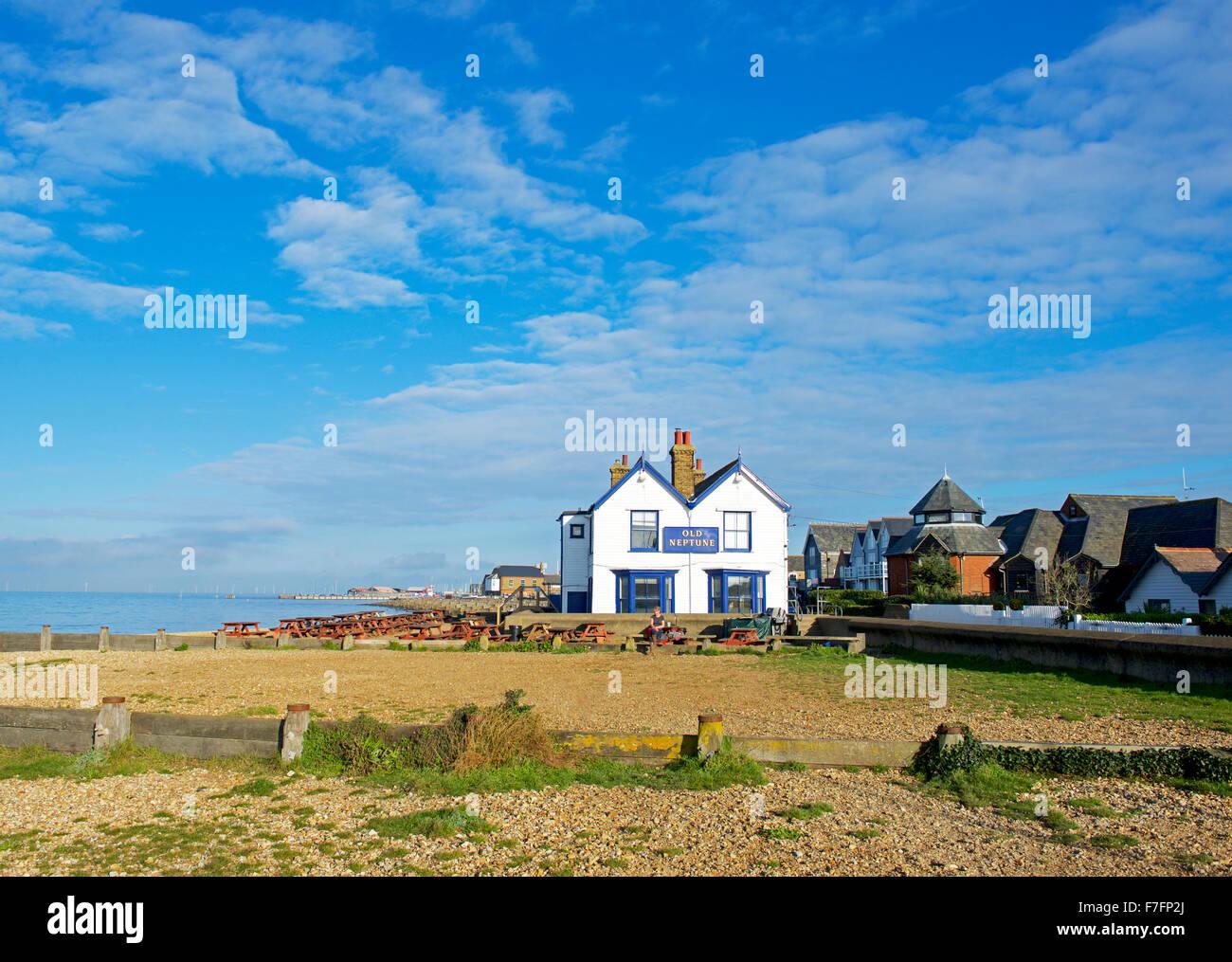 The Old Neptune pub, Marine Terrace, Whitstable Kent, England UK Stock Photo