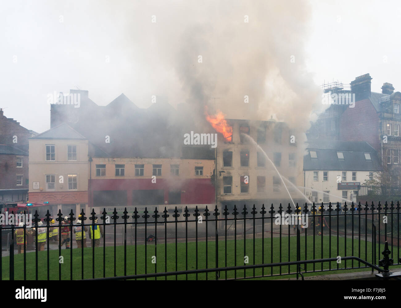 newcastle-upon-tyne-uk-1st-dec-2015-fire