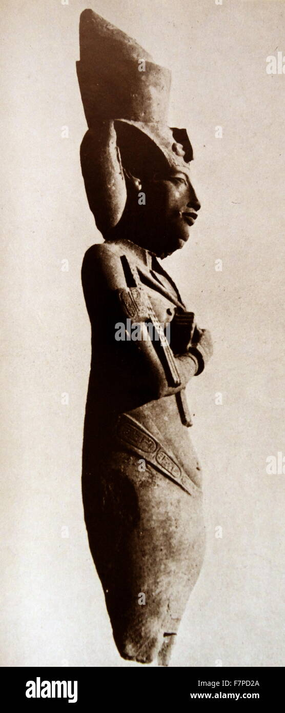an analysis of the pharaoh who was called akhenaten This statuette depicting the pharaoh amenhotep iv (later called akhenaten) and his queen, nefertiti,.