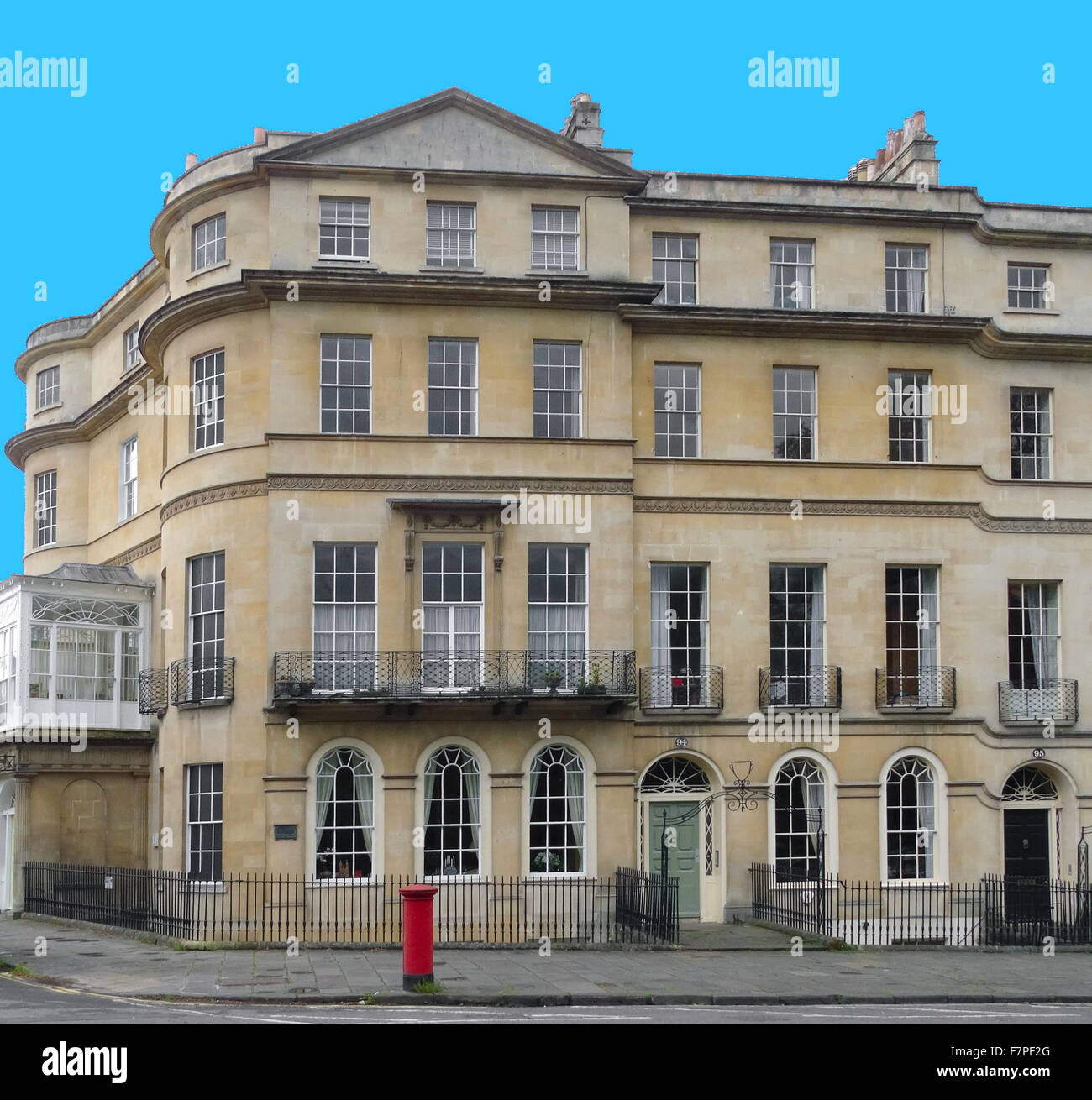 georgian architecture in bath a city in somerset england most