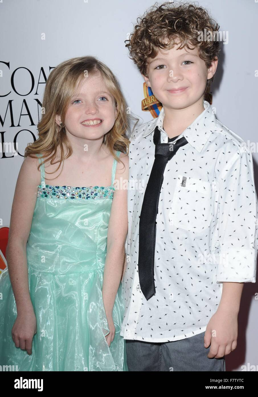 Farrah Mackenzie, Blane Crockarell at arrivals for Dolly Parton's COAT OF MANY COLORS Premiere, The Egyptian - Stock Image