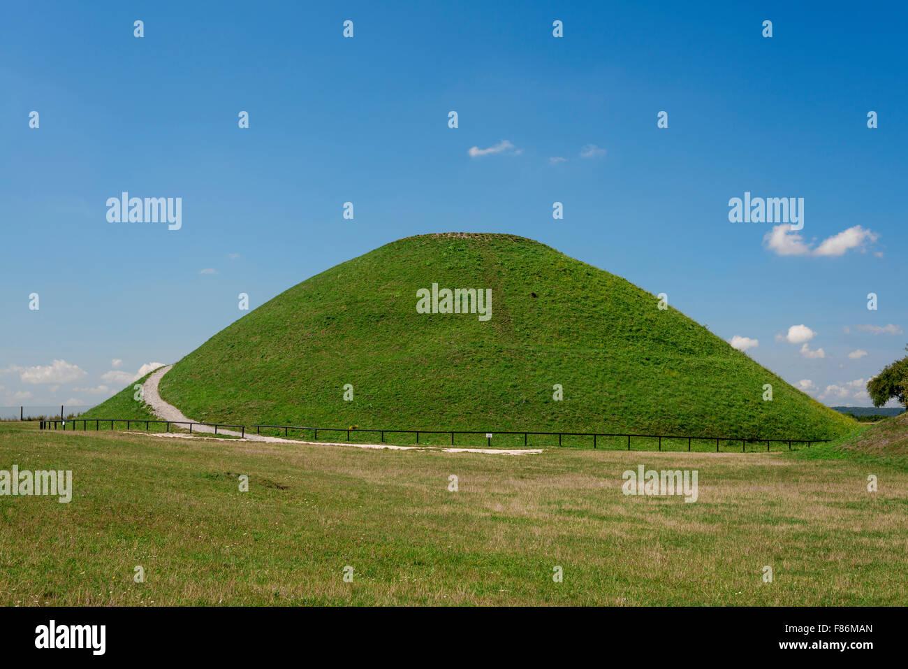Poland Krakow. Krakus Mound - Stock Image