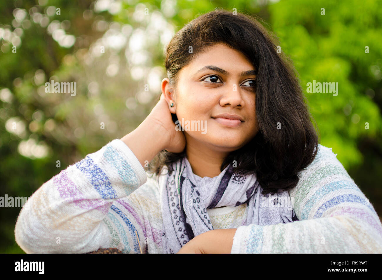 chubby indian girl stock photos & chubby indian girl stock images