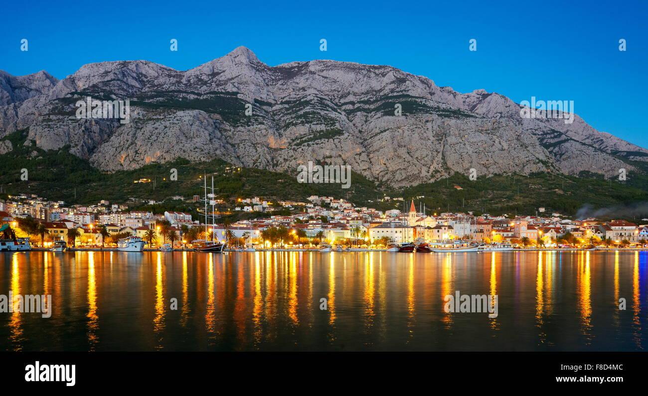 Makarska, Makarska Riviera - Croatia - Stock Image
