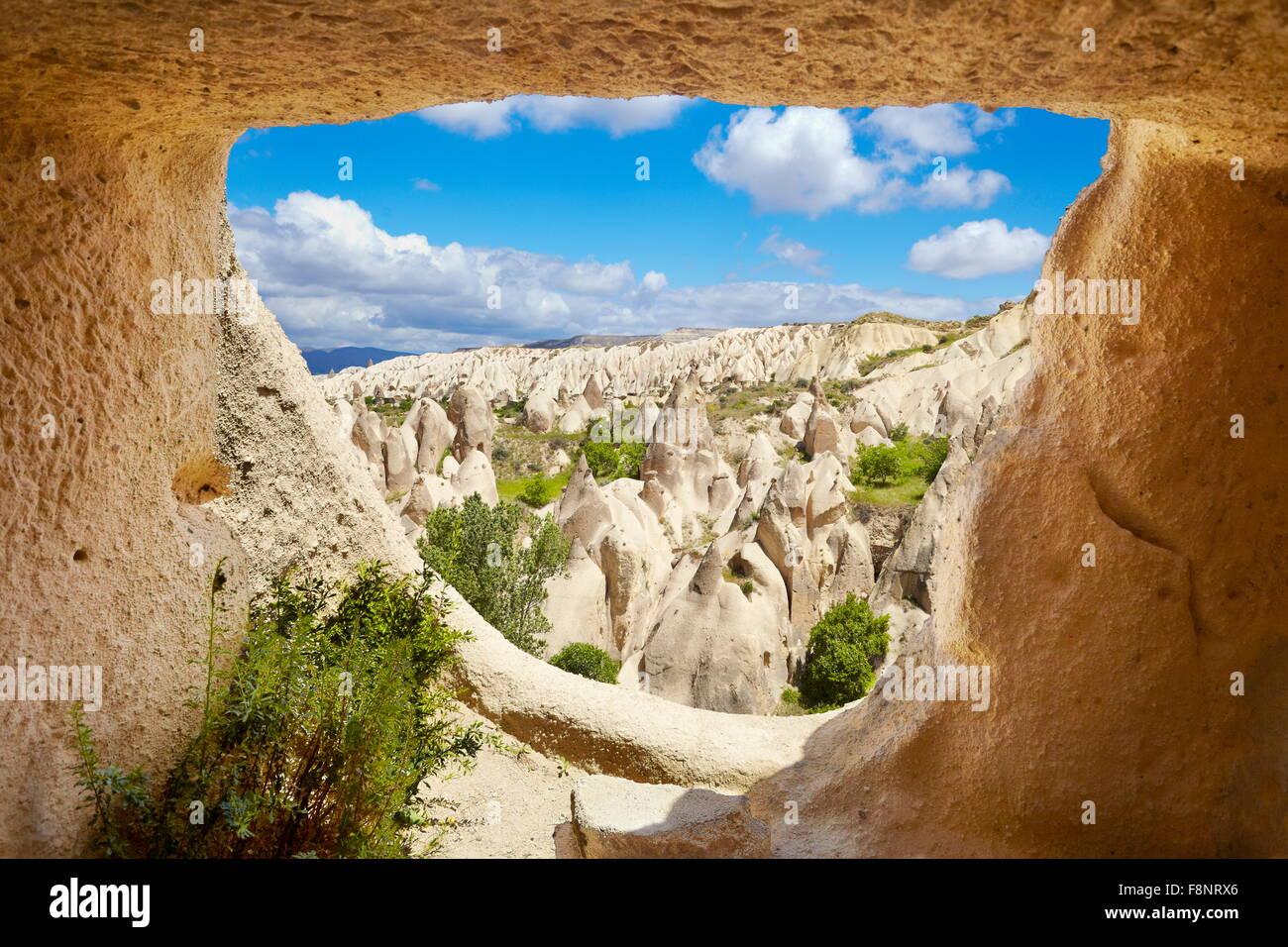 Cappadocia - Goreme National Park, Turkey, UNESCO - Stock Image