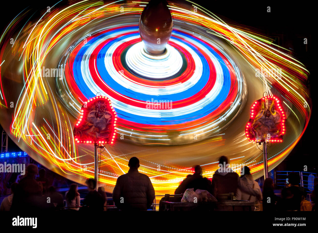 The St Giles Fair, Oxford, United KingdomStock Photo