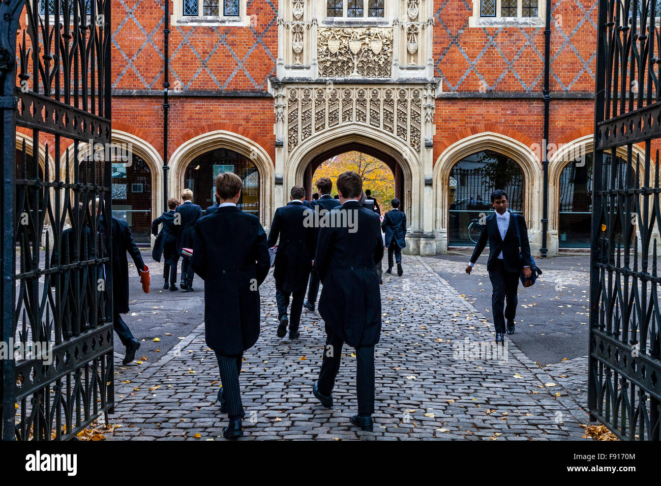 Eton Schoolboys, Eton School, Eton, Berkshire, UK Stock Photo