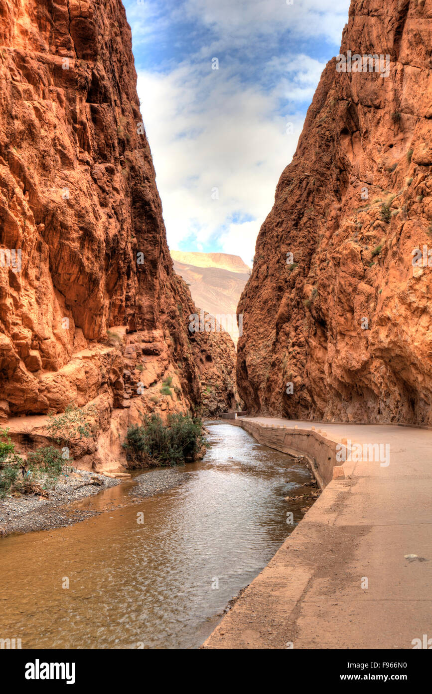 Dades Gorge, Morocco - Stock Image