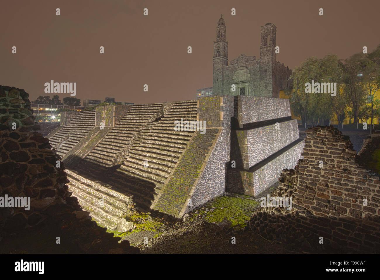 Tlatelolco Stock Photo