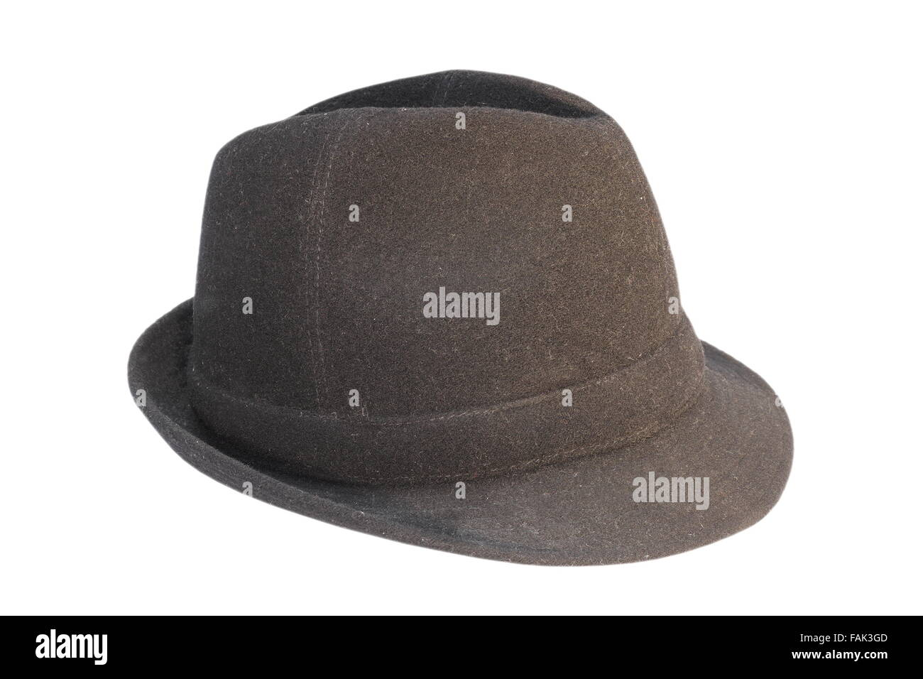 Old black hat isolated on white background stock photo alamy jpg 1300x956 Old  black hat 824de7a740ff