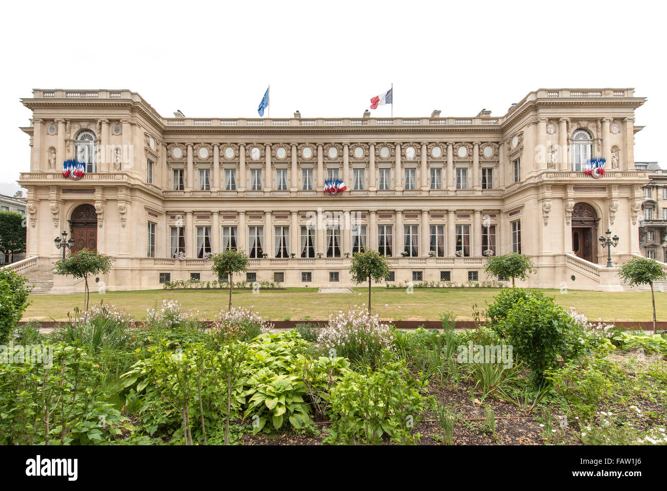 Ministry of Foreign Affairs building in Paris. - Stock Image