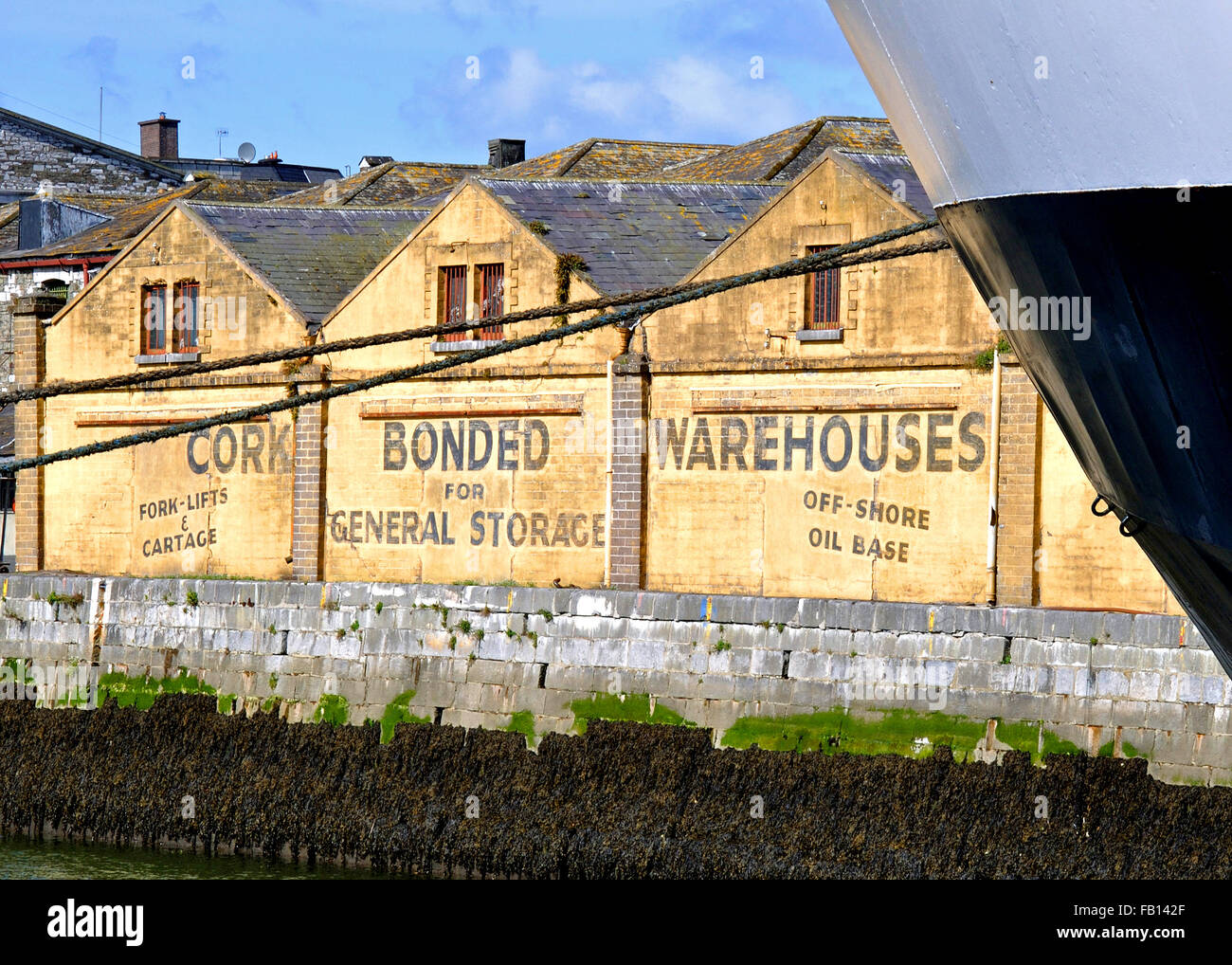 cork-bonded-warehouses-lapps-island-taken-from-kennedy-quay-cork-ireland-FB142F.jpg