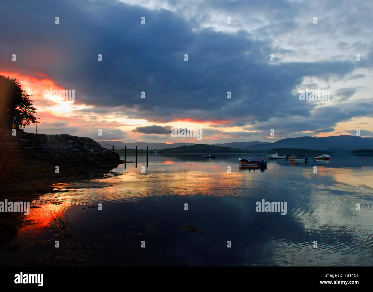 stunning-sunset-in-bantry-bay-west-cork-