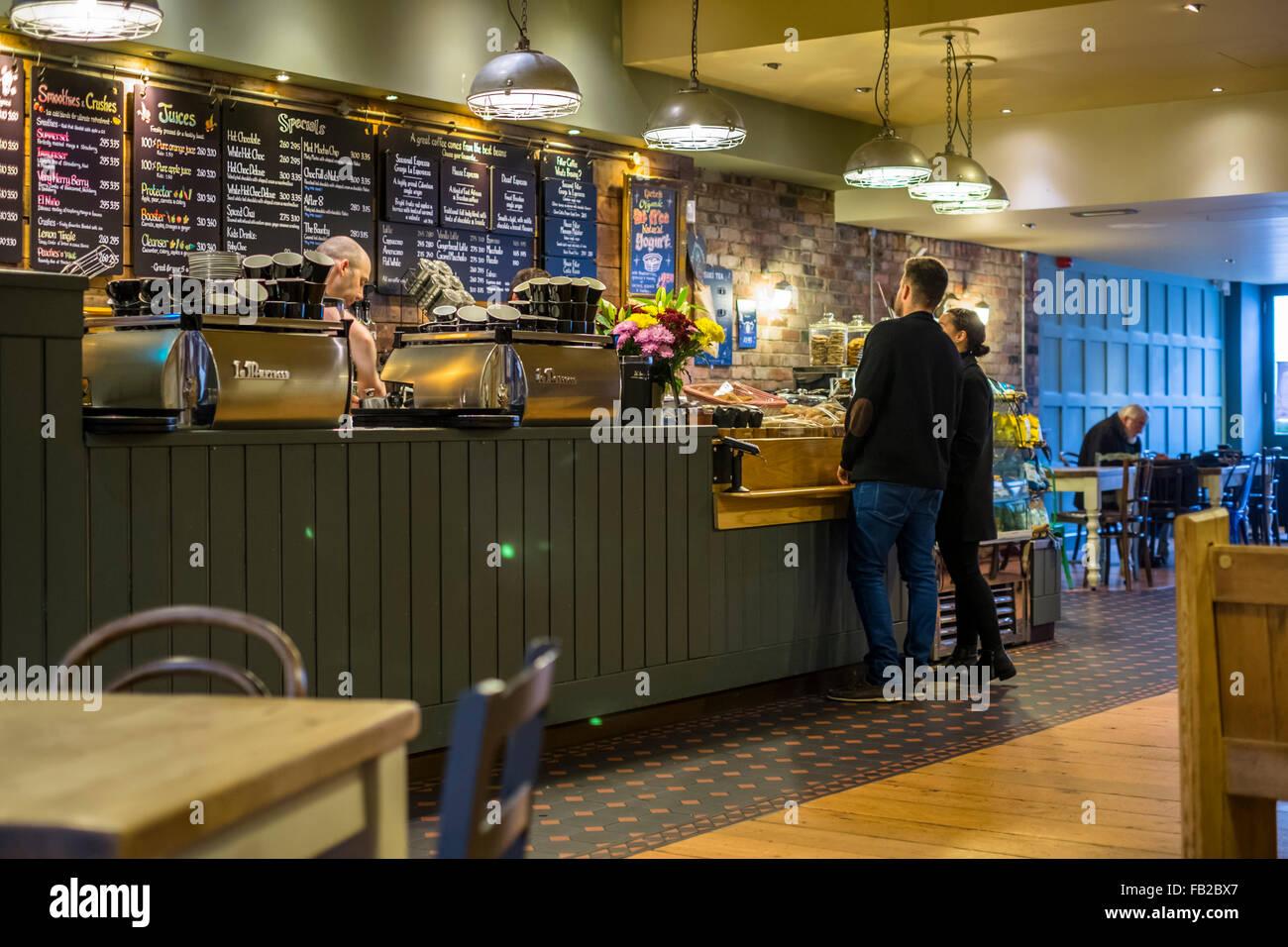 Cafe #1 in Thornbury Gloucestershire England UK Stock Photo