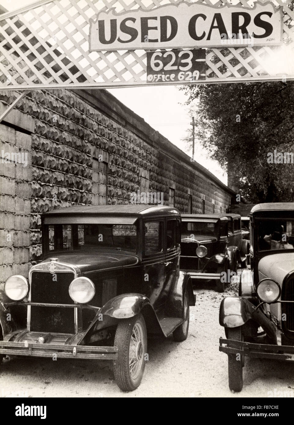 Used Car Lot In Columbus Ohio Usa Stock Photo 92976870 Alamy