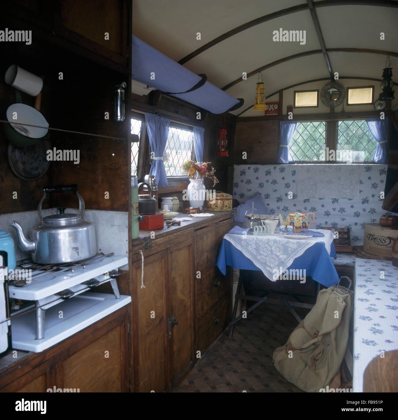 Inside Caravan Stock Photos Amp Inside Caravan Stock Images