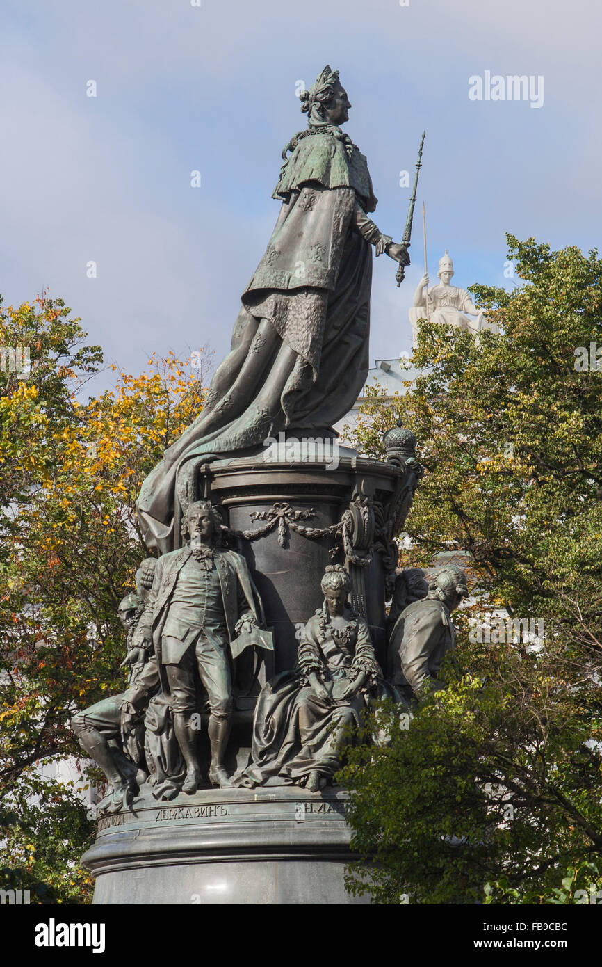 Monument to Catherine the Great in St. Petersburg: description, photo 81