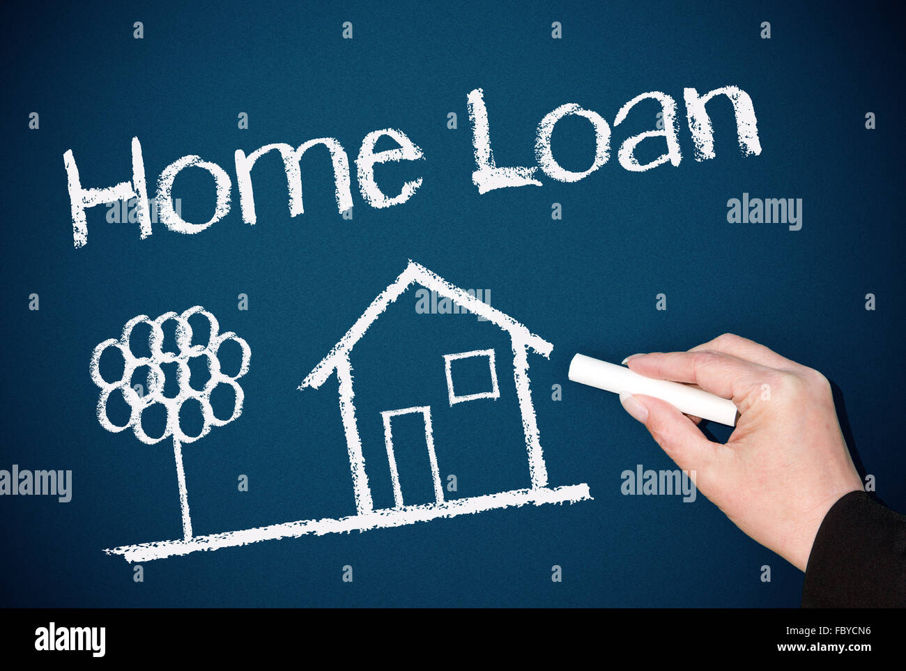 Home Loan - Stock Image