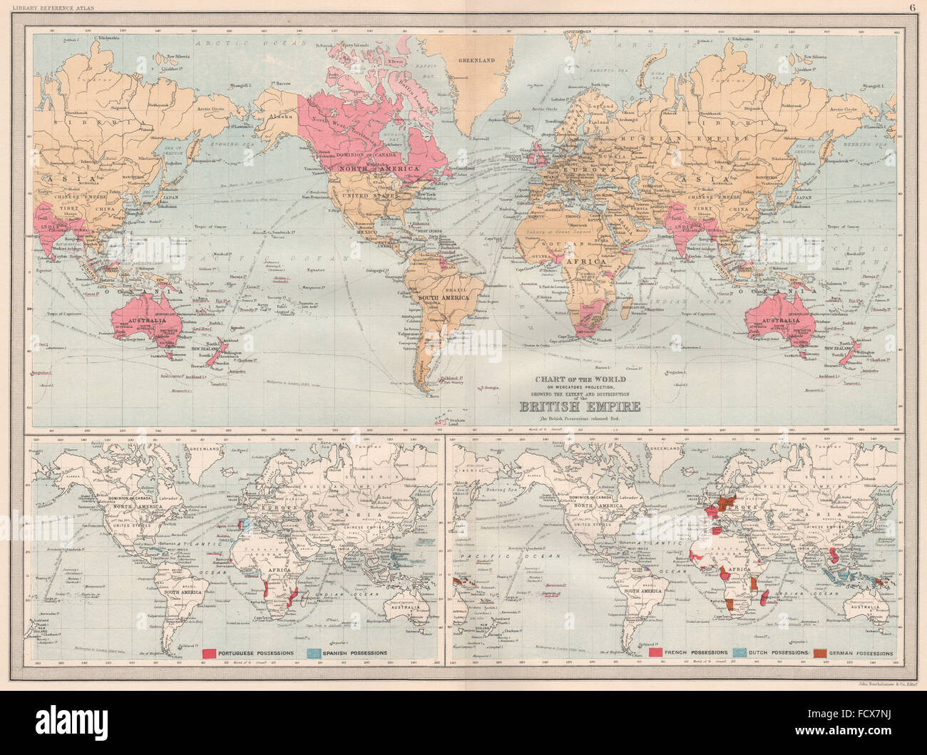 British empire colonies portuguese spanish french dutch german colonies portuguese spanish french dutch german 1890 old map gumiabroncs Choice Image