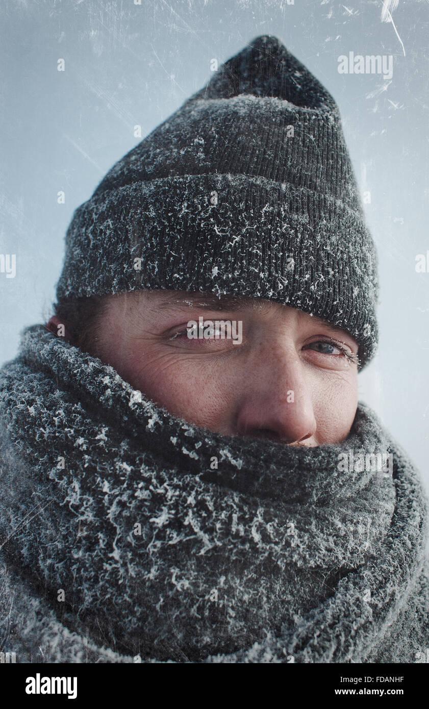 winter wonderland - Stock Image