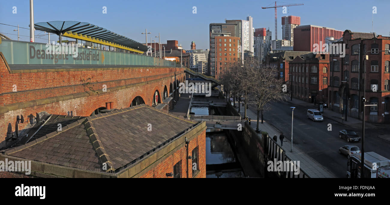 Deansgate,Castlefield,England,GB,UK,M3,4LG,brick,city,Victorian,rail,railway,modern,transport,for,greater,TFGM,times,timetable,route,metrolink,RAPT,group,tunnel,transit,transfer,urban,Castlefield station,M3 4LG,Victorian City,Transport For Greater Manchester,RAPT Group,GoTonySmith,@HotpixUK,Buy Pictures of,Buy Images Of,Images of,Stock Images,integrated transport