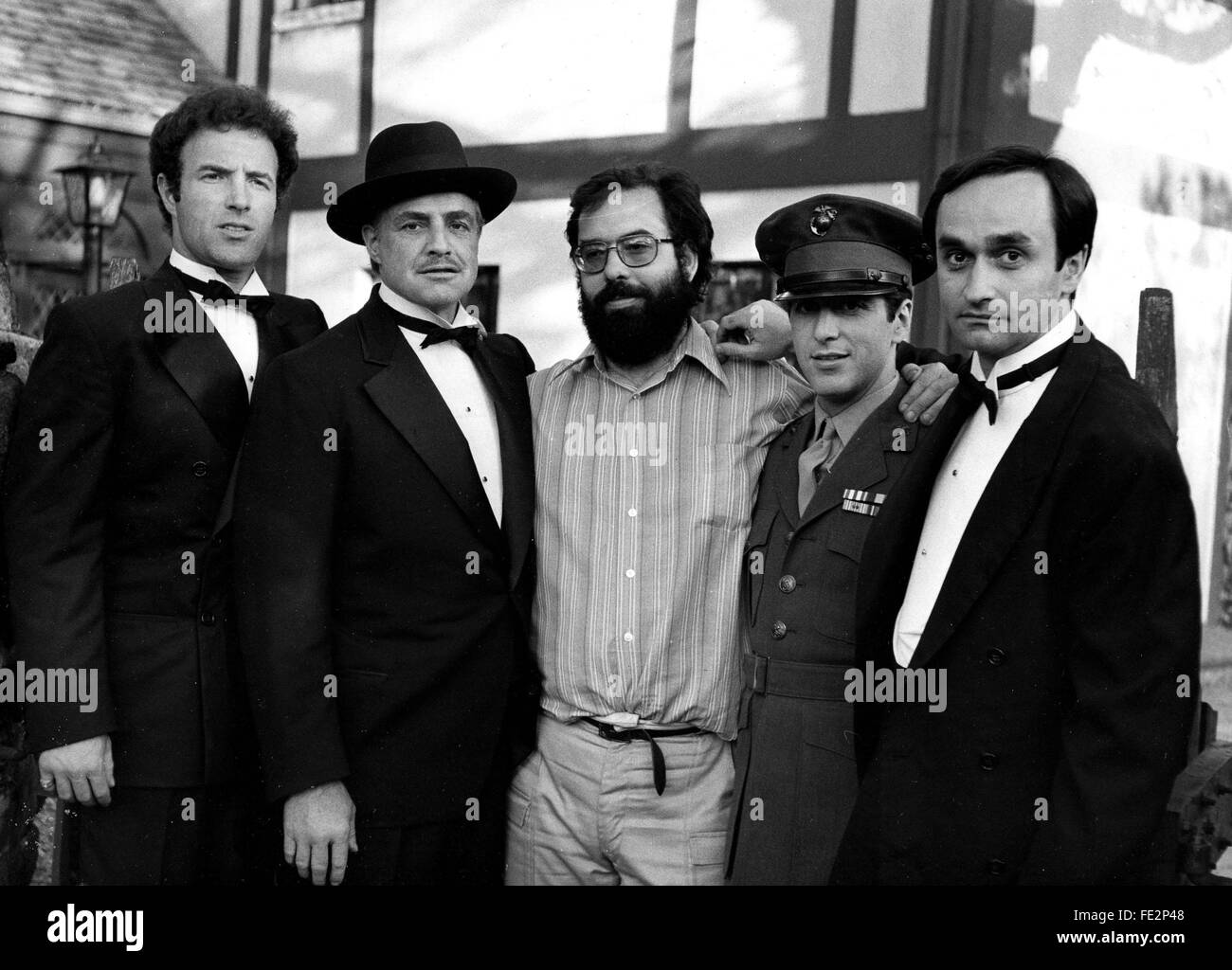 le parrain the godfather 1972 Francis Ford Coppola Marlon Brando Al Pacino James Caan COLLECTION CHRISTOPHEL/ DR Stock Photo