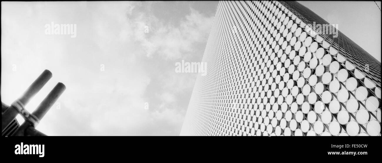 Low Angle View Of Tall Building - Stock Image