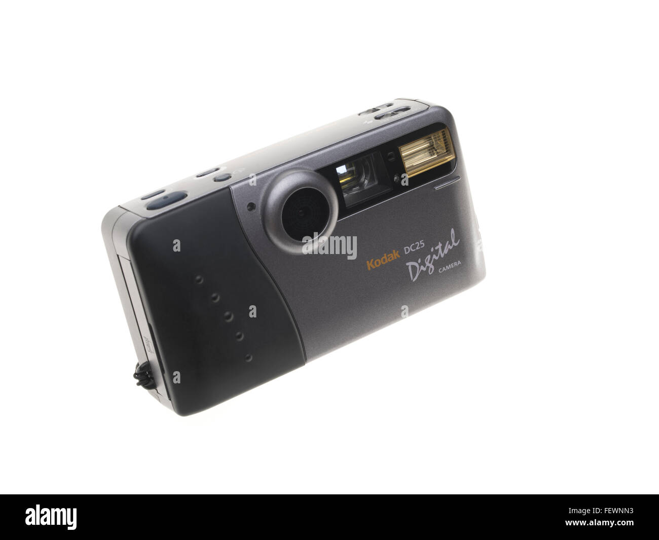 Kodak DC25 digital camera one of the world's first mass consumer digital camera, released in 1996 0.2 megapixel - Stock Image