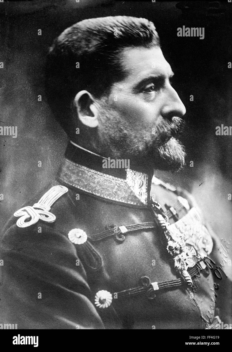 FERDINAND I OF ROMANIA (1865-1927) - Stock Image