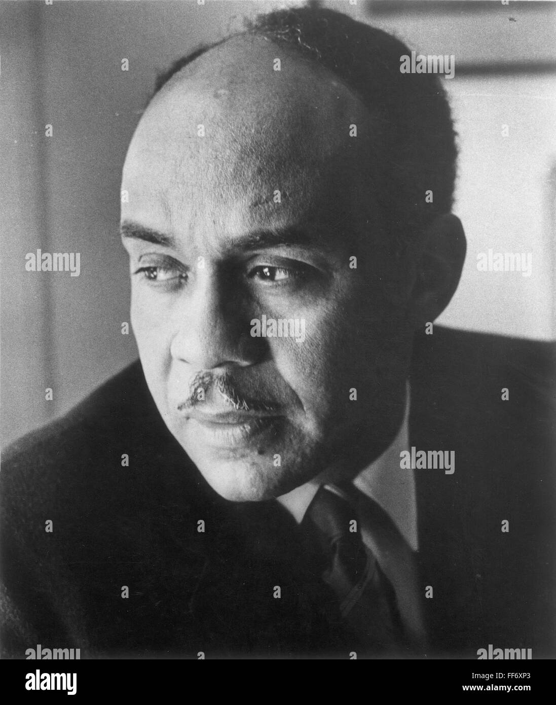 RALPH ELLISON (1914-1994). /nAmerican writer. Stock Photo