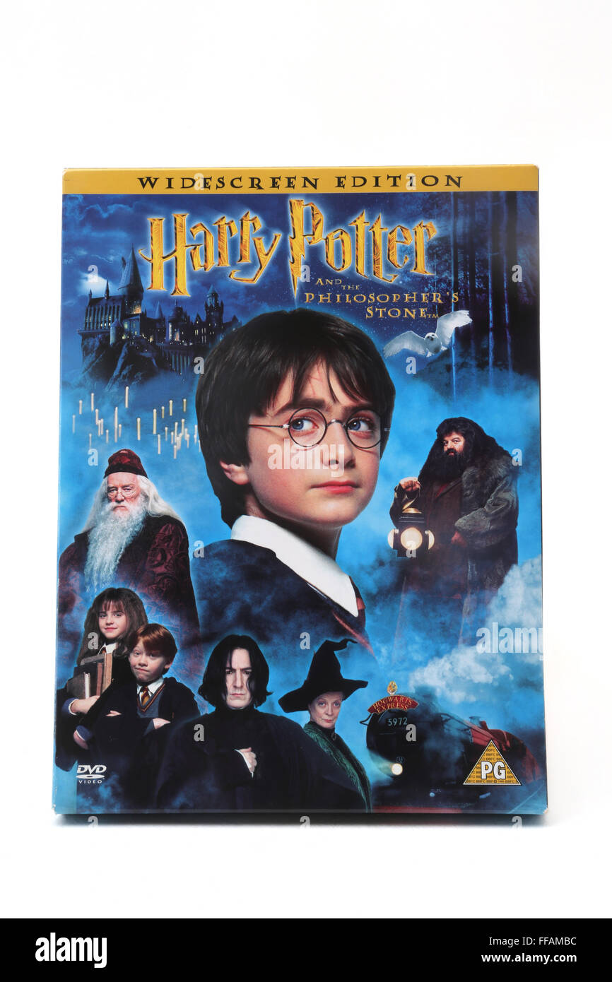 Harry Potter And The Philosopher's Stone DVD 2 Disc Special Edition - Stock Image