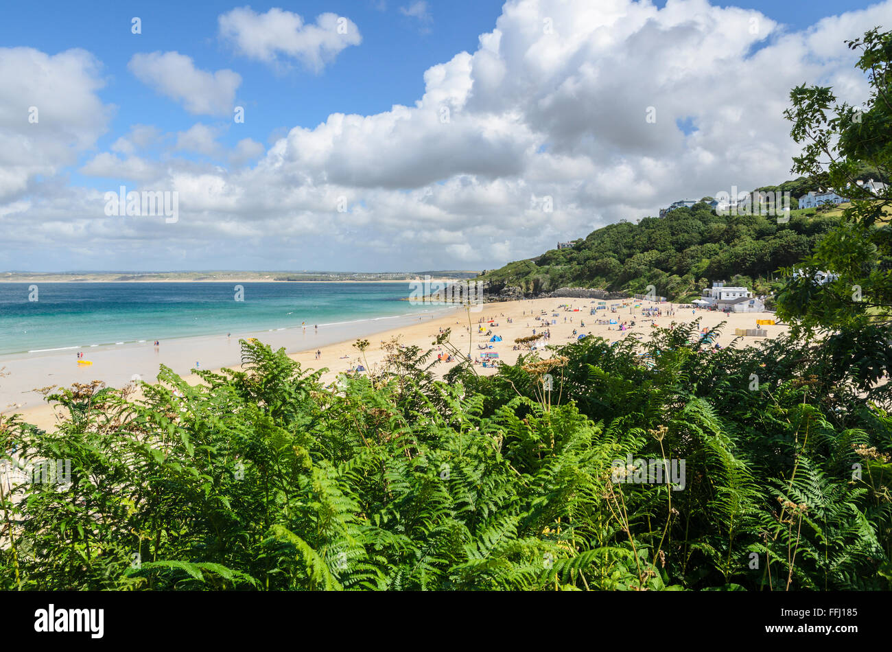 Portminster Beach, St Ives, Cornwall, England, United Kingdom. - Stock Image