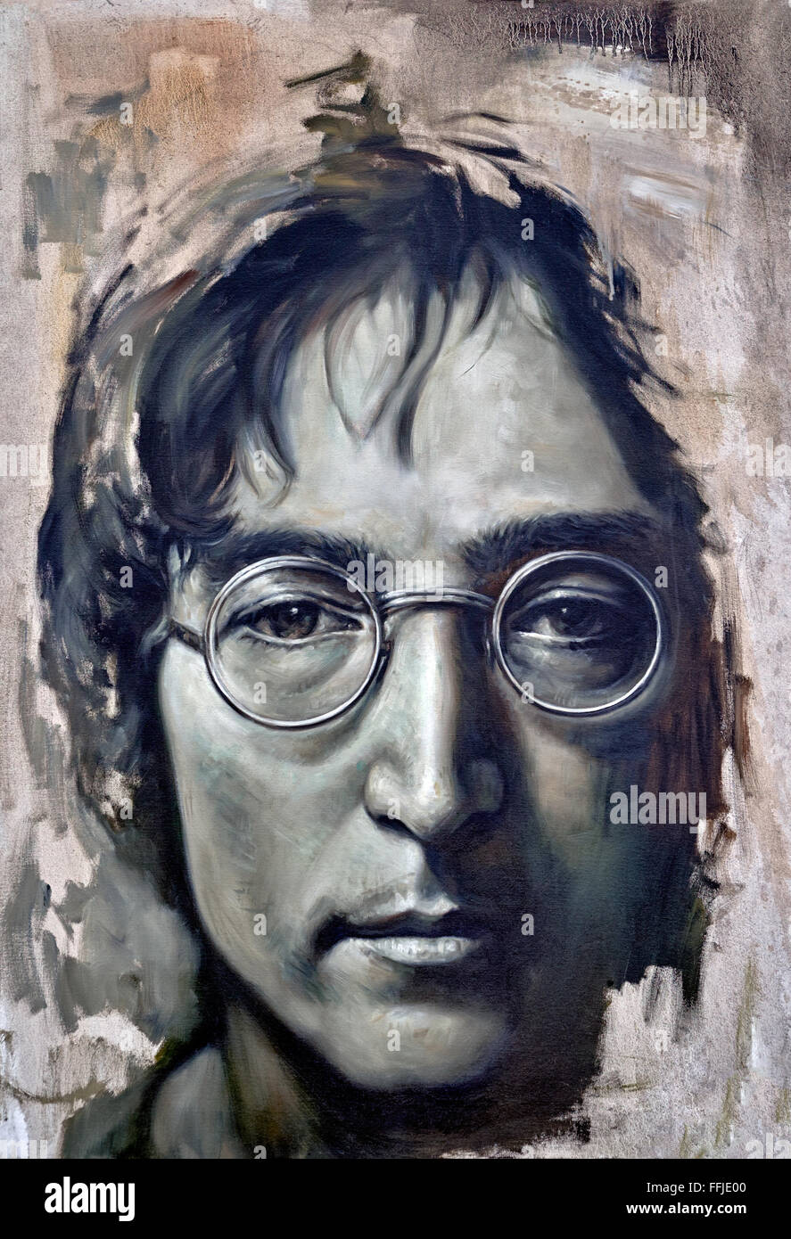 unfinished-painting-of-john-lennon-FFJE0