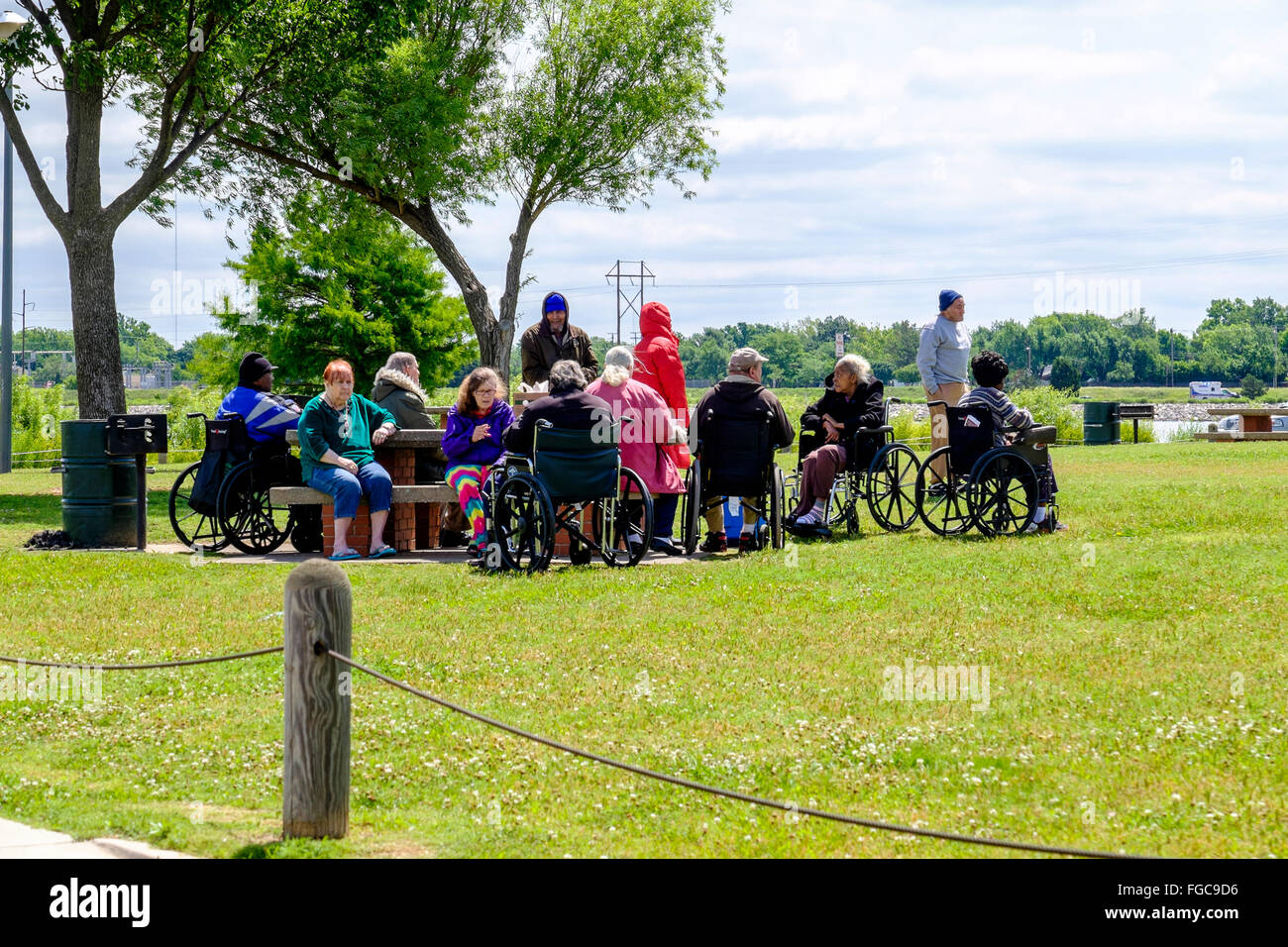 handicapped-and-old-folks-are-taken-for-